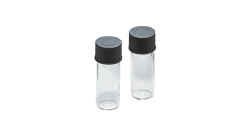 set of sample glasses 1.5 ml volume with lids (set = 12 pieces)